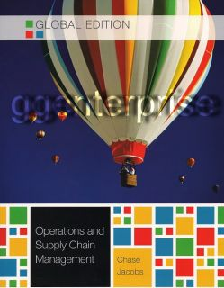 Operations and Supply Chain Management 13th Edition New 0073525227