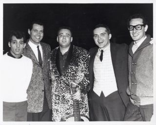 Buddy Holly, Ritchie Valens, Big Bopper Jan 24, 1959 portfolio of 16