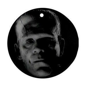 Boris Karloff Frankenstein Christmas Ornament