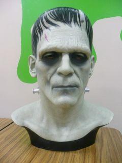 Boris Karloff Frankenstein Miles Teves Cine Art Bust