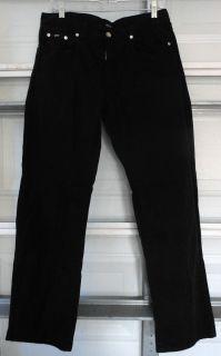 BOSS Hugo Boss black chino khaki pants Size 32/31 Mens 100% Cotton