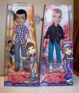 Bratz Boyz Boy Doll Set 2 Dolls Cameron and Dylan NIP Free Shipping