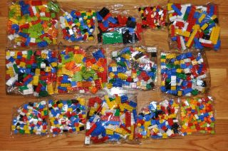 1600 NEW LEGO Bricks Blocks Pieces MIXED COLORS SIZES BULK LOT NEW