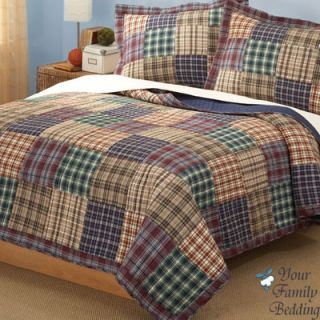 Boy Teen Kid Cabin Quilt Bedding Set Twin Full Queen King