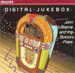 Jukebox John Williams and The Boston Pops CD 028942206427