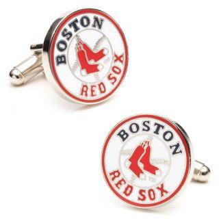 Officially Licensed MLB Baseball Cufflinks Boston Red Sox from