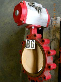 Bray Controls Pneumatic Rotary Valve Actuator 91 1604 21320 532 w/ 12