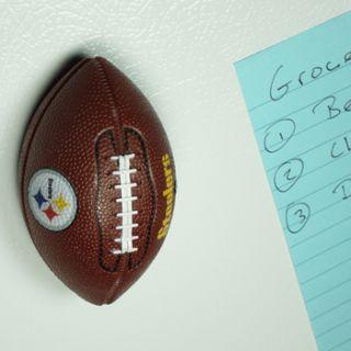 Steelers Mini Football Bottle Opener, Hand Held Fridge Magnetic NEW