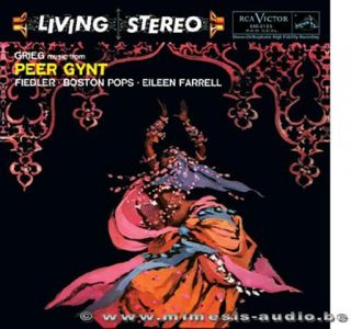 Grieg Peer Gynt Arthur Fiedler Boston Pops Living Stereo 180 grams LP