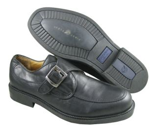 NWD Bostonian Mens 22911 Black Loafer Shoes US L11M R10.5M