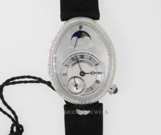 Breguet Reine de Naples 18K Ladies Diamond Watch 8908BB