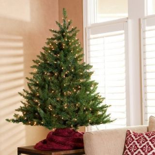 Classic Tabletop Pre Lit Christmas Tree 4 5 ft Free Expedite Shiping