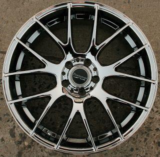 Bremmer Kraft BR05 20 Chrome Rims Wheels Honda Accord 03 Up 20 x 8 5