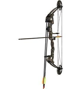 Vortex JR Youth Archery Bow Camo w/ 3 Arrows and Bow Holder   BAR 1105