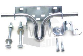 Brand New 2 pcs of Garage Door Slide Bolt lock