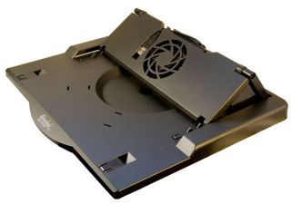 Open Box Laptop Notebook PC Cooling Stand w Fan Heavy Duty
