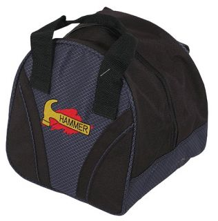 features of hammer plus single bowling ball bag navy black one ball