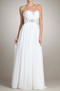 Off White Informal Bridal Wedding Occasion Clothing Homecoming Dress