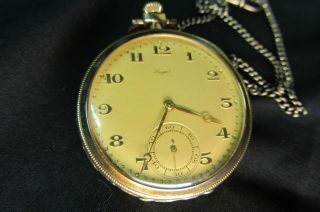Breguet Pocket Watch Solid Gold Pocket Watch Breguet Watch 14k