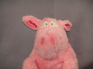 Cartoon Toy Sandra Boynton Pink Pig Plush Stuffed Animal Crazy Looking