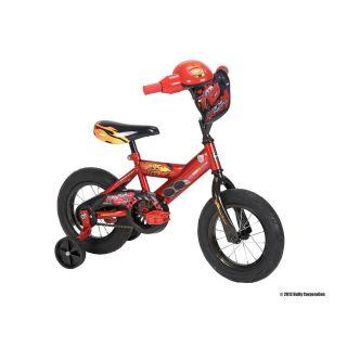 Huffy 12 inch Boys Bike with Rev Grip Cars
