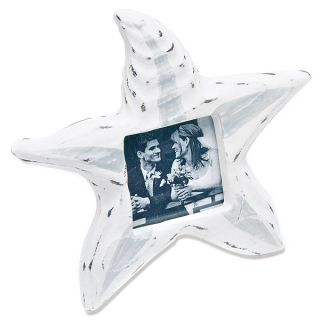 24   Small Wooden Starfish Photo Frames Beach Wedding Favors   Free