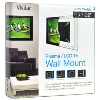 Vivitar LWM 26 7 22 Wall Mount Bracket for LCD Flat Panel Monitor TV