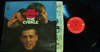 1966 ORIG ~ THE CYRKLE ~ RED RUBBER BALL ~ BEATLES JOHN LENNON