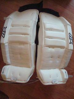 New Brians Zero G H Series Youth Ice Hockey Goalie Leg Pads 23 1