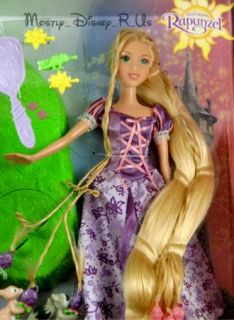 Tangled Rapunzel Braiding Friends Hair Braider Doll New