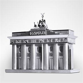 Metal Works Brandenburg Gate 3D Laser Cut Model Marvel Brandenburger