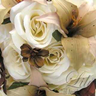 50 pcs Package Wedding Bridal Bride Bouquet Centerpiece Pew End Swag