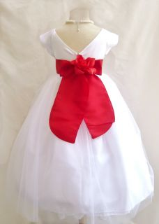 Ivory Jr Bridesmaid Pageant Birthday Formal Prom Recital Flower Girl