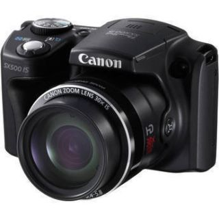 Canon PowerShot SX500 Is Digital Camera Brand New USA