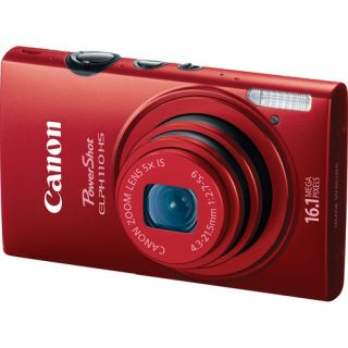 Canon PowerShot ELPH 110 HS Digital Camera Red Brand New USA