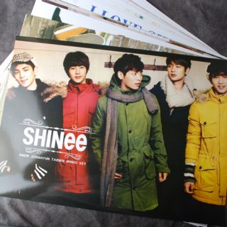 Pop SHINee 12POSTERS Collection Bromide 2012 New 12pcs