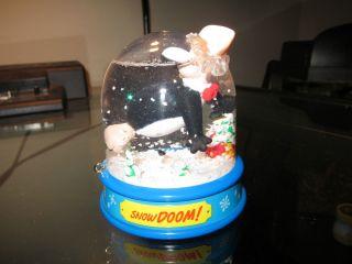 County Christmas Ornament Snow Doom Globe Berkley Breathed