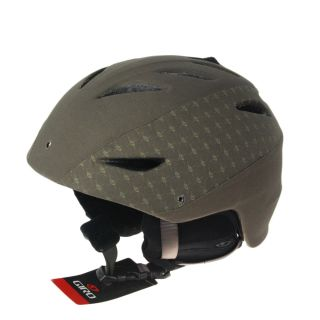 Giro G10 MX Snowboard Ski Helmet Small Brown Canvas