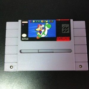 Super Nintendo SNES Super Mario World