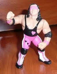 WWF Hasbro Bret Hart Vintage WWE Wrestling Figure