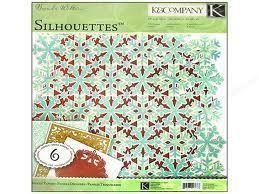Company Brenda Walton Silhouettes Die Cut Papers Snowflakes