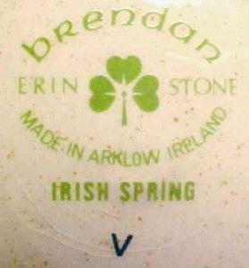 Pretty Irish Spring Salad Plate Brendan Ireland T1032