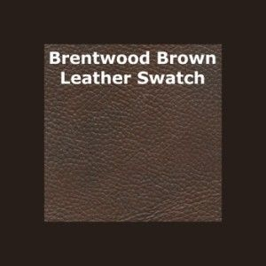 Brentwood 3 piece Leather Set Top Grain Leather, Sofa, Loveseat and