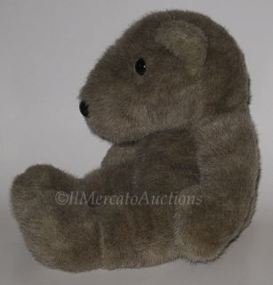 GANZ ROOSEVELTS TEDDY Bear Plush Brown Sitting Stuffed Animal Toy 16
