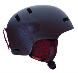 Giro Shiv Matte Brown Low Ski Snowboard Helmet Snow Adult