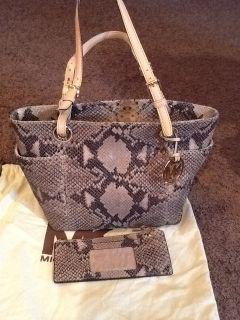 Michael Kors Snakeskin Handbag Wallet
