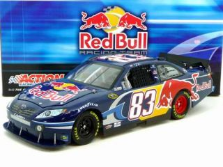 2010 Brian Vickers #83 Red Bull 124 Scale Diecast Car by Action