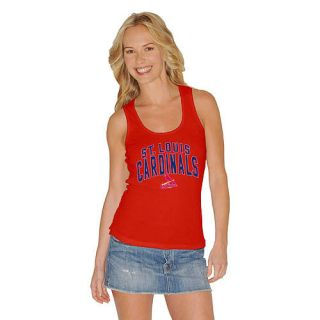 St Louis Cardinals Team Color Womens Fashion Tank Top Shirt by G III