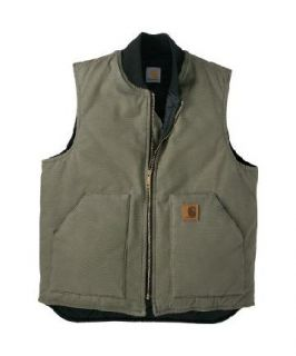 Carhartt Insulated Duck Canvas Vest Color Size Choice