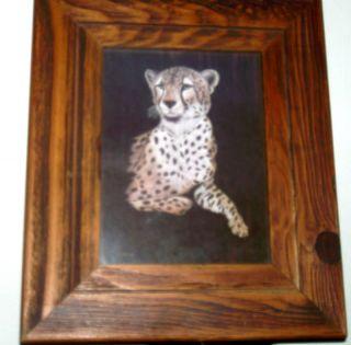 Vintage Marjorie Brice Print Wall Art Wood Frame Prints